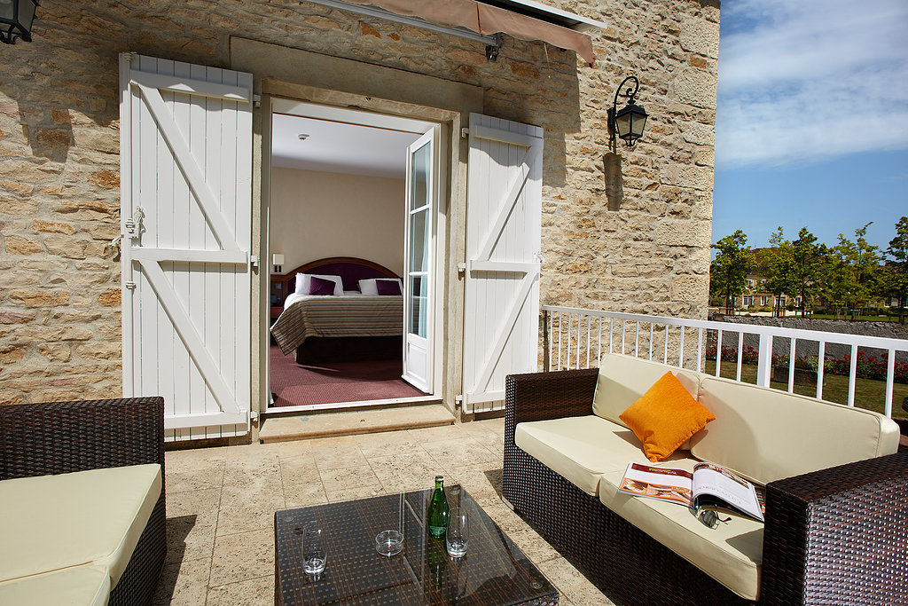 "Suite ""Grand Cru Villa Chrisitne"" - terrasse"